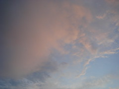 pinky clouds