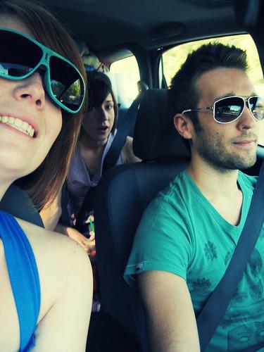 Summer road trip through Sierra Nevada