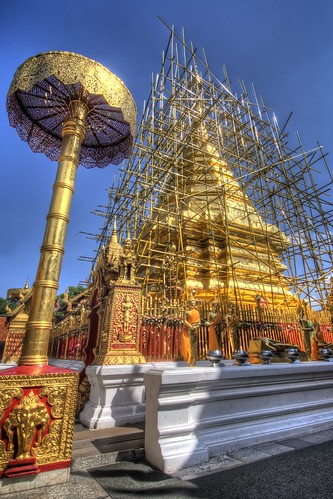 Chedi at Wat Phrathat Doi Suthep