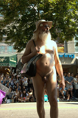 Naked guy (frontal) (jelee_unleashed) Tags: prideparade frontal 2009 nakedguy vancouverpride