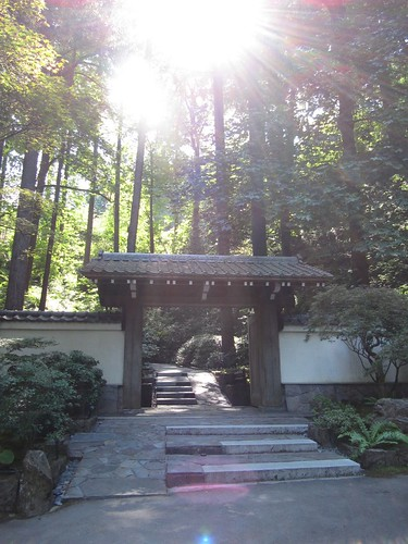 gate to the japanes garden