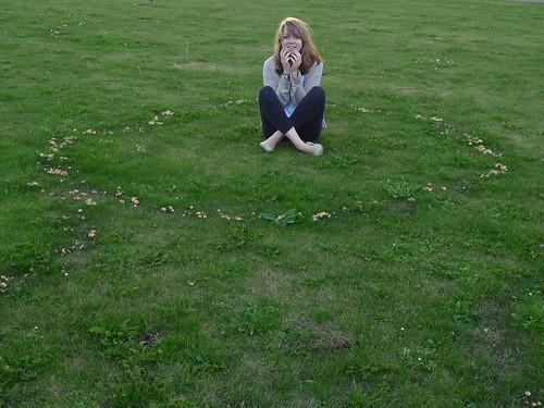 I fell into a fairy ring.