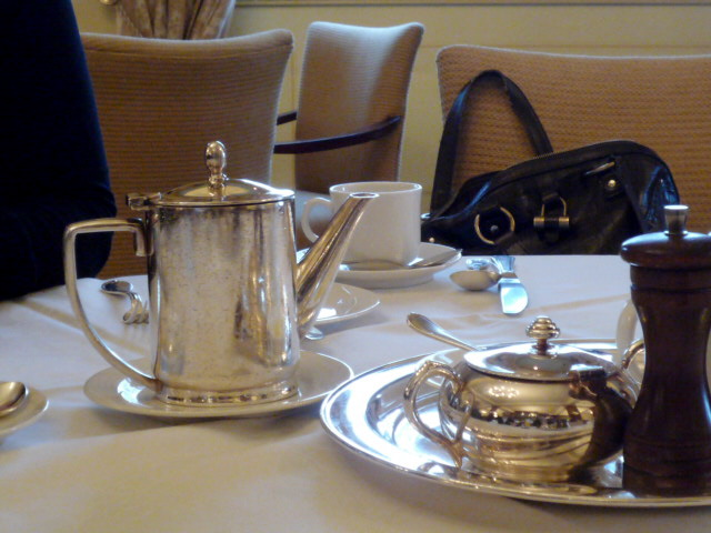 The Windsor silver service
