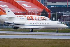 VP-CAB - Private - Dassault Falcon 900 - Luton - 090310 - Steven Gray - IMG_0730