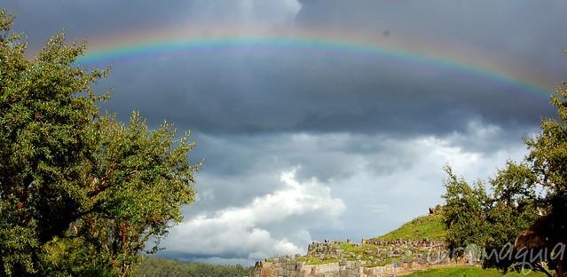 Arco-íris no Peru