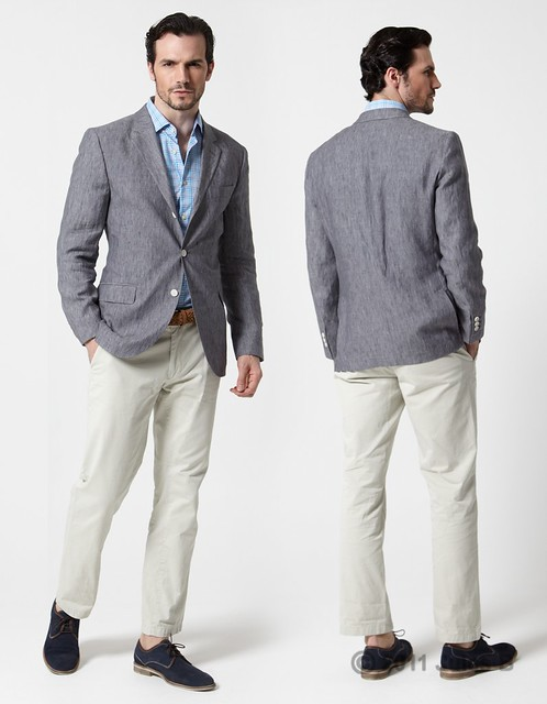 Plain Delave Jacket by Hackett by julesblimited