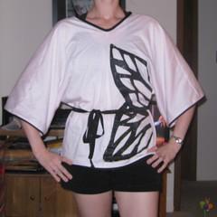 butterfly kimono top