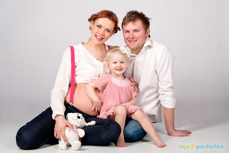 Фотосессия беременности Ольги