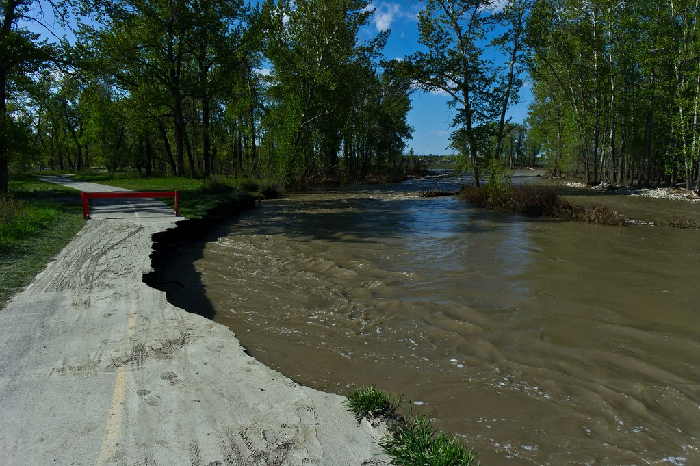 Fish Creek flooding