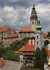 esk Krumlov Castle (Foto Martien (thanks for over 2.000.000 views)) Tags: castle unesco czechrepublic slot bohemia krumau burg worldheritage kasteel tsjechi eskkrumlov kastell eskrepublika jihoeskkraj schlos zuidbohemen krummau werelderfgoedlijst sony350 southbohemianregion sdbhmischenregion tsjechien welterbes behemen martienuiterweerd