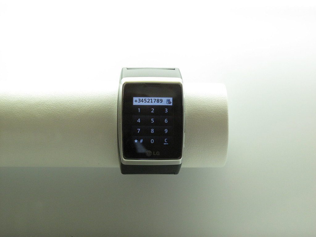Mobile phone watch from LG