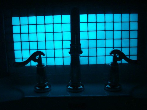 Night time view Glow in Dark Tile