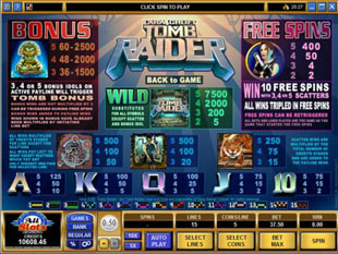 Tomb Raider free game