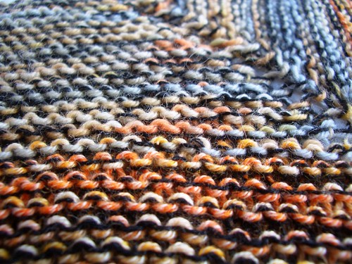 Sunday Morning shawl in progress-2