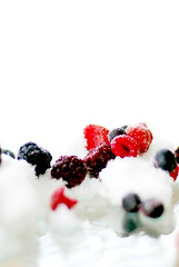 frozen fruit.