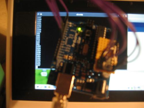 Arduino TSL230R