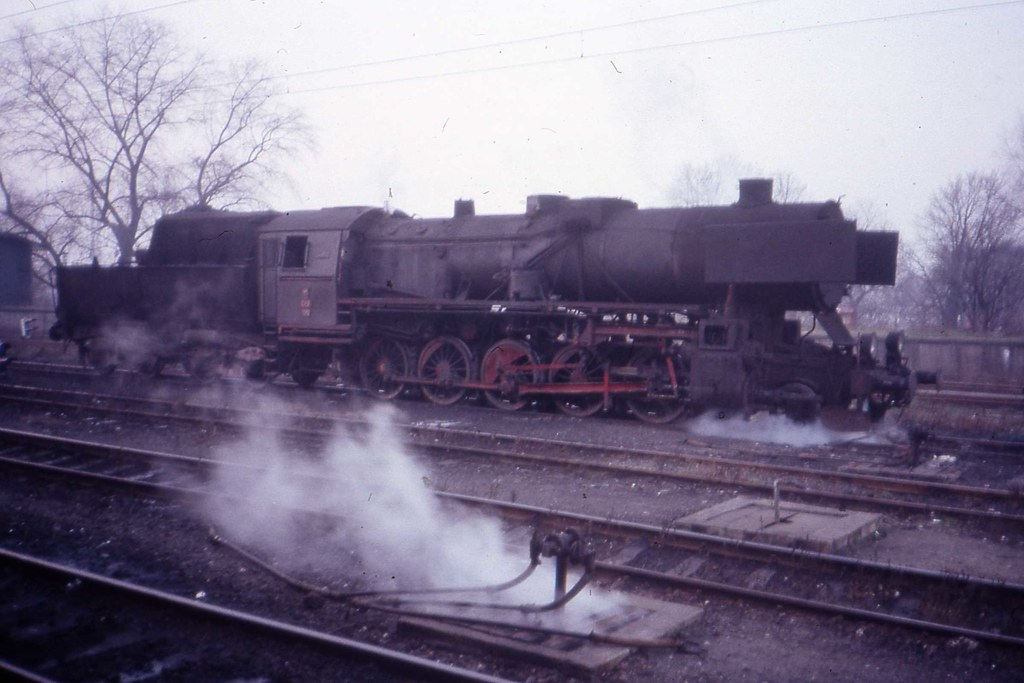 Ty2  PKP Carriage Heating engine, Legnica, Poland Nov 1989