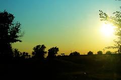 i SO cannot wait until summer (Hilary Mae) Tags: sunset summer sun warmth wishfulthinking sunflare