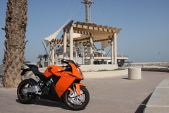 RC8 @ Marina Waves (ZDistrict) Tags: riding motorcycle exhaust austrian rc8 ktcm rc8r