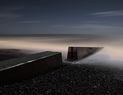 Ovingdean (Alex Bamford) Tags: longexposure moon beach night brighton gap fullmoon explore moonlit moonlight groyne moonlighting ovingdean explored interestingness350 i500 alexbamford thebigbambooly wwwalexbamfordcom