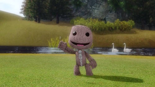 Hot Shots Golf: Out of Bounds - LittleBigPlanet's Sackboy | Flickr ...