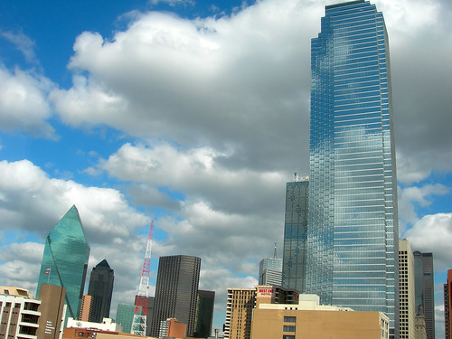 Dallas skyline from Dealey Plaza