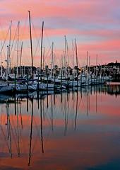 """Marina Morning"" (fantommst) Tags: newzealand reflection marina sunrise boats harbor auckland nz hero winner sailboats 1001nights otw westhavenmarina aplusphoto flickrchallengegroup flickrchallengewinner fbdg thechallengefactory ""flickraward"" capturethefinest mindigtopponalwaysontop"