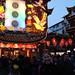 007gbeijing -- carla at new years festival outside