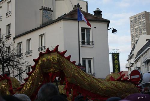 Parfois on a tendance à oublier quon est à Paris, heureusement que le drapeau est là :)