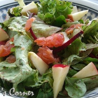 Crispy Salad with Balsamic Vinaigrette
