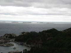 Utsikt fra rneredet (shilo2009) Tags: sea norge grnt