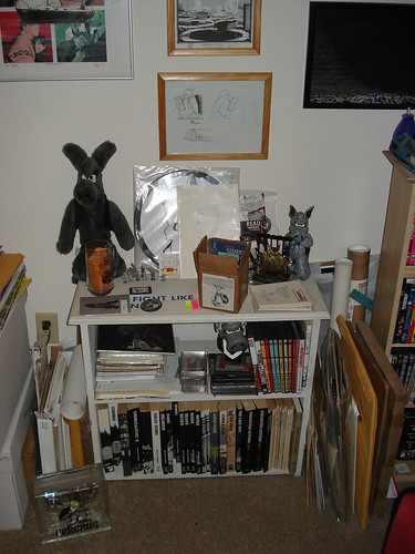 Cerebus bookcase 2009 by you.