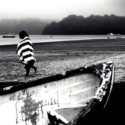Black & White Beach by ►CubaGallery