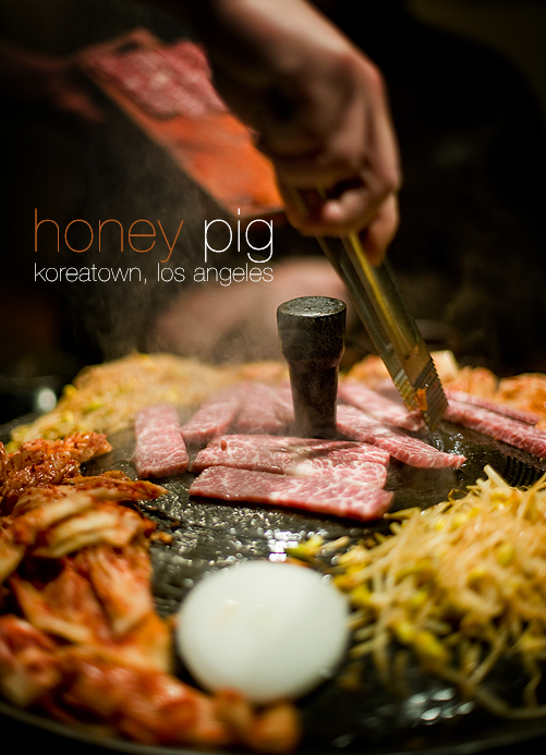 Honey Pig, Koreatown Los Angeles - Prime Kalbi