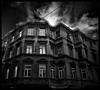 The Nightmare (Atilla1000) Tags: street sky bw building birds clouds manipulation explore nightmare taksim beyoğlu interestingness3 manipulationbirds