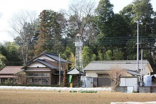 上松原の火の見櫓