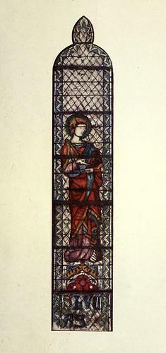 015- San Lucas- Triforio del coro de San Ouen- Rouen siglo XIV