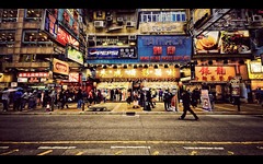 Blade Runner (isayx3) Tags: street camera hongkong nikon post bladerunner shops pepsi d200 process tamron fridays 10mm wingshing kevinlau mischiru httpwwwflickrcommischiru