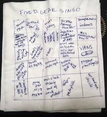 fixed-gear bingo, take 1
