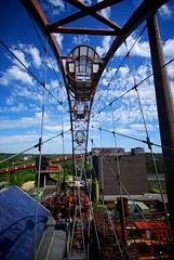 75% Wheel (edwardhorsford) Tags: world heritage wheel museum site essen rust iron mine industrial ferris exhibition unesco coal derelict complex ruhr zollverein zeche 1020mmsigma