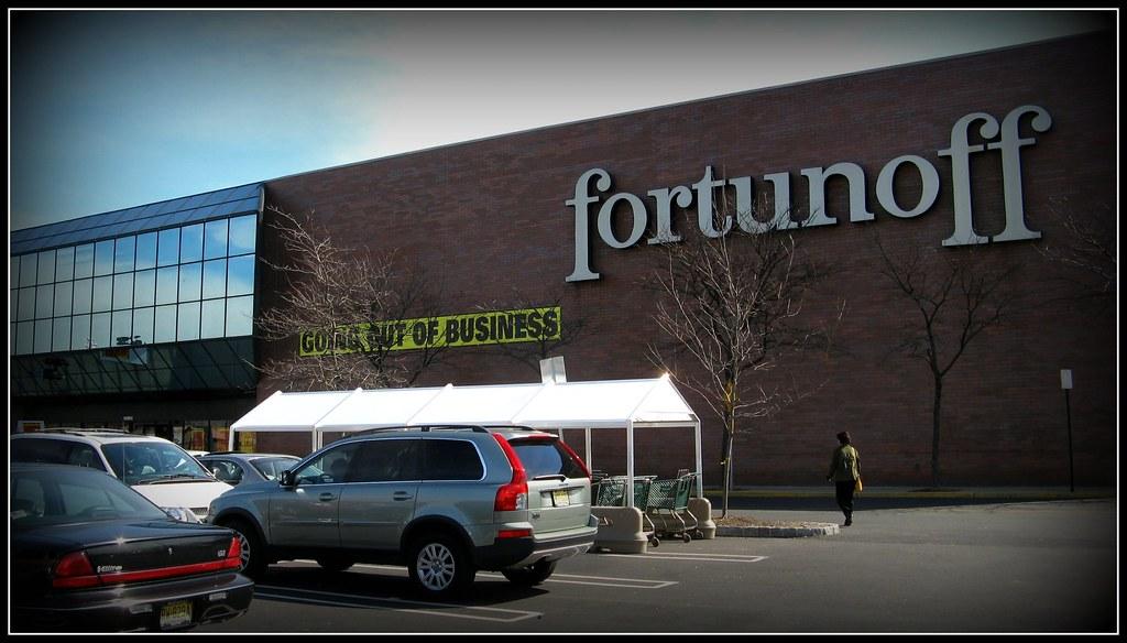 Fortunoff Store Closing