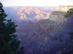 Grand Canyon at sunset (oklanica) Tags: arizona grandcanyon 2009 309