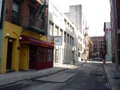 Minetta Lane by Walking Off the Big Apple, on Flickr