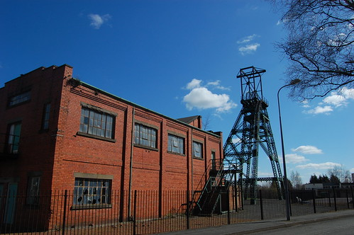 Bersham Colliery pithead