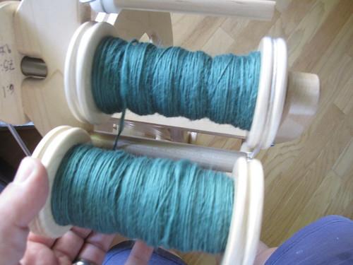 Alpaca/merino/silk singles