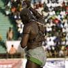 la Lutte Sénégalaise_XV._MAGIC WATER (lilion (Beatrix Jourdan)) Tags: africa man colour power body traditions senegal dakar combat elton hl traditionalsport pakala pentaxk10d laamb lilion parcelles senegalesewrestling africanspirit copyrightedallrightsreserved luttesénégalaise guédiawaye jmeszolybeatrix ballagaye cheikhfall yékini mbayegueye modoulo toubaboudior yakhyadiop lacdeguiers2 papeansoucissé thionkesyl batlingsiki abdoulayediouf lionsdelateranga lacdeguiersii boyniang2 taphatine eumeusene dembagueye boynaar aïcambeur zalelô