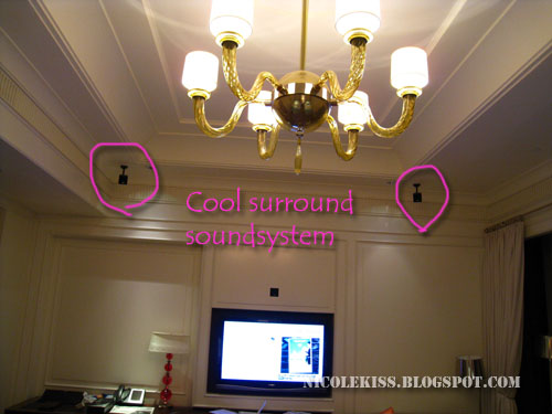 speakers on the ceilings