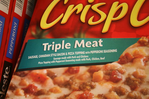 Totino's Triple Meat Crisp Crust Pizza