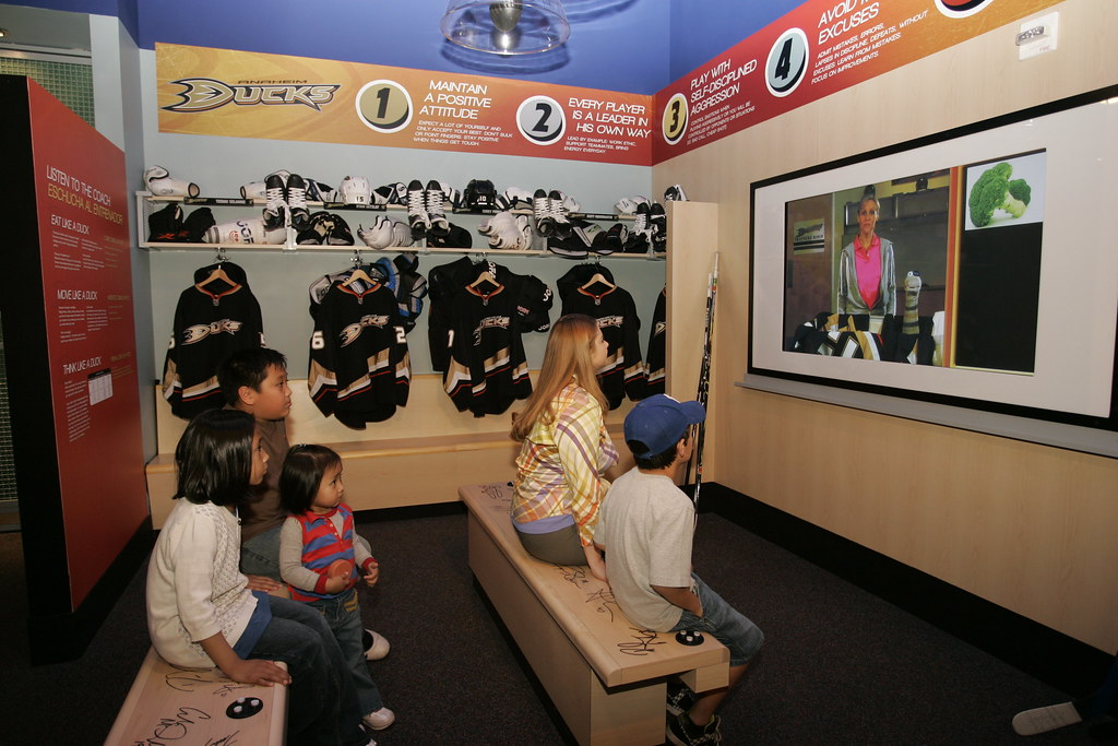 Science of Hockey - Locker Room