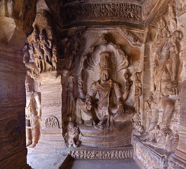 Shesasahi Vishnu, Badami